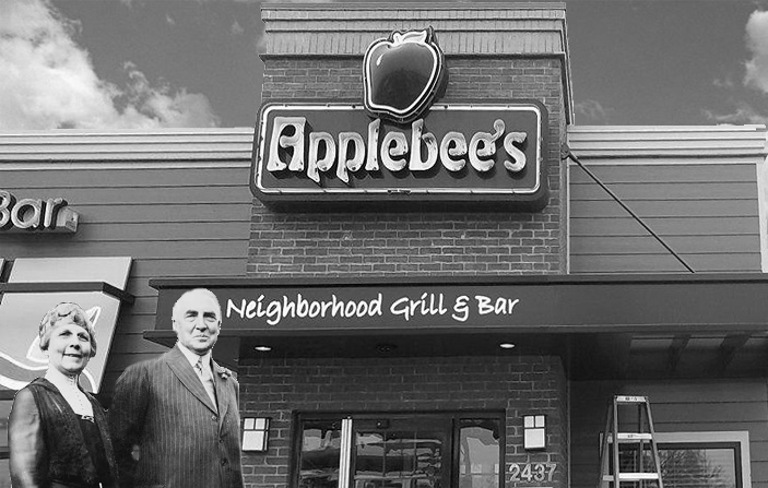 Warren G Harding at Applebee's
