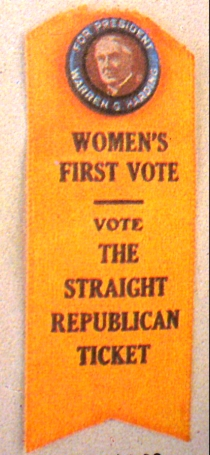 1920 Voting Ribbon