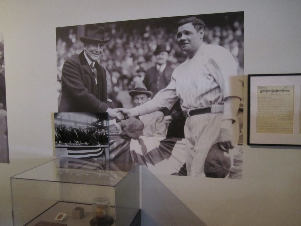 WARREN G HARDING (oh, and Babe Ruth)